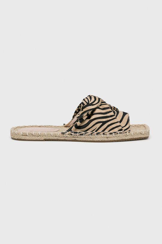 bej Glamorous - Papuci De femei