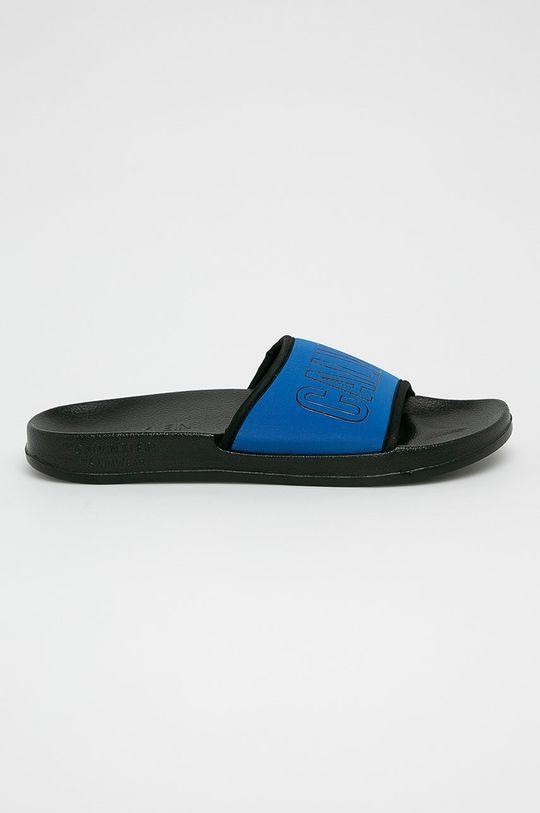 modrá Calvin Klein Underwear - Pantofle Dámský