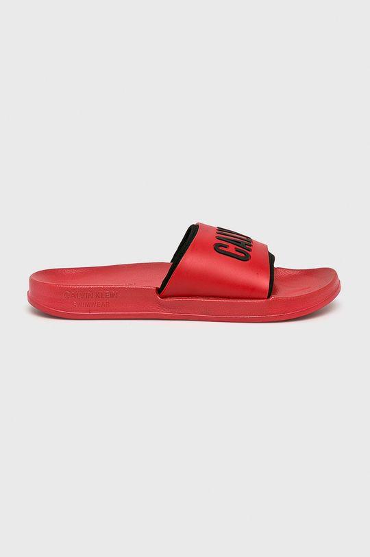 červená Calvin Klein Underwear - Pantofle Dámský