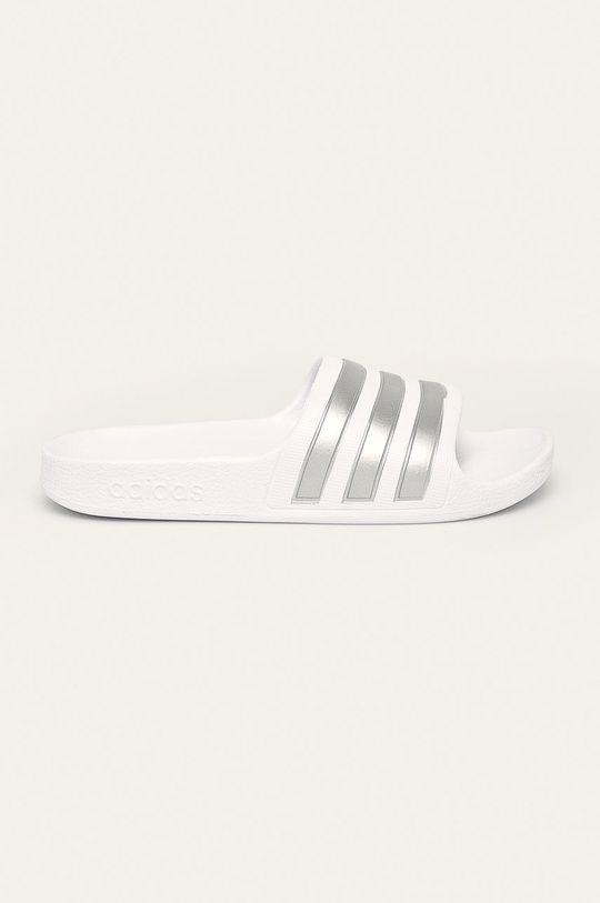 bílá adidas Performance - Dětské pantofle Dívčí