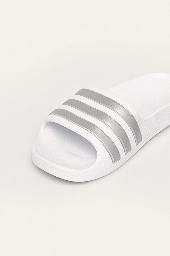 bílá adidas Performance - Dětské pantofle
