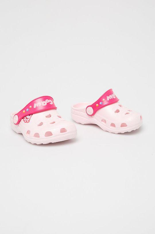 Coqui - Dětské pantofle růžová