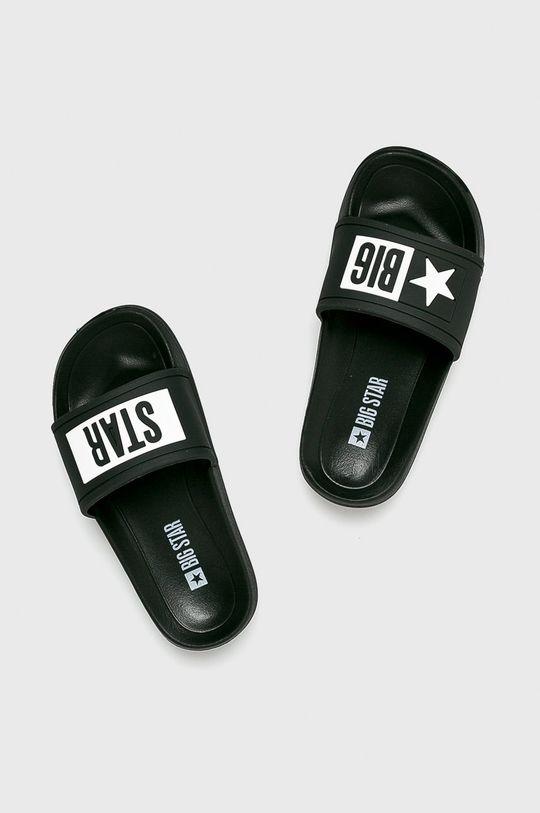 Big Star - Klapki czarny