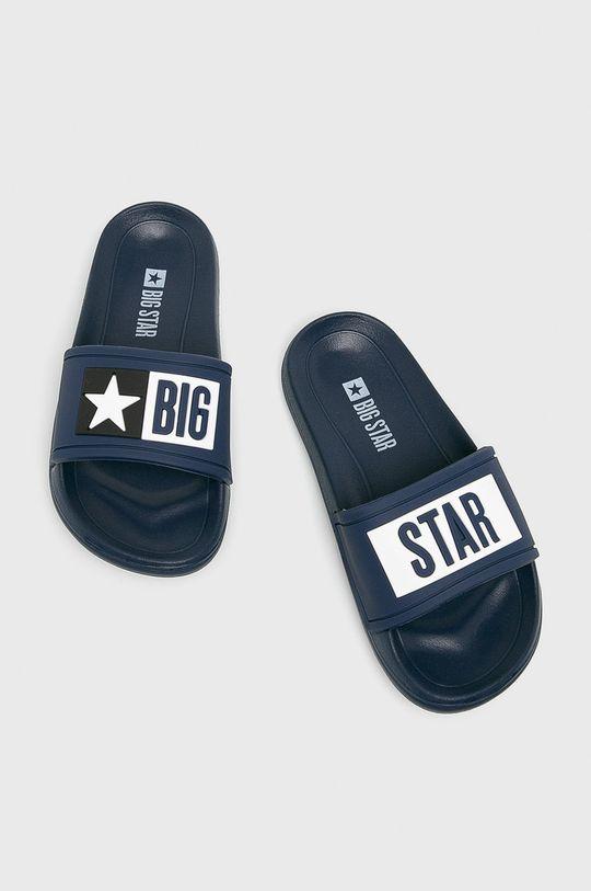 Big Star - Dětské pantofle námořnická modř