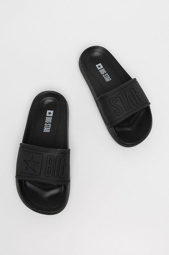 Big Star - Dětské pantofle černá