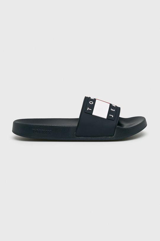 sötétkék Tommy Jeans - Papucs cipő Flag Pool Slide Férfi