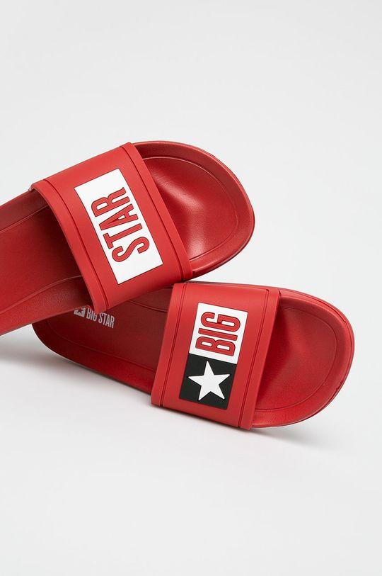Big Star - Pantofle červená