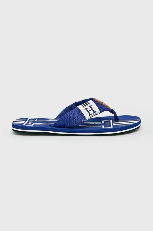 kék Tommy Hilfiger - Flip-flop Badge Textile Beach Sandal Férfi
