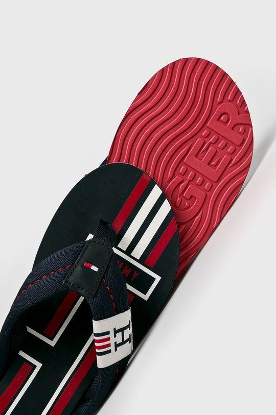 Tommy Hilfiger - Flip-flop Badge Textile Beach Sandal  Szár: textil, természetes bőr Belseje: szintetikus anyag, textil Talp: szintetikus anyag