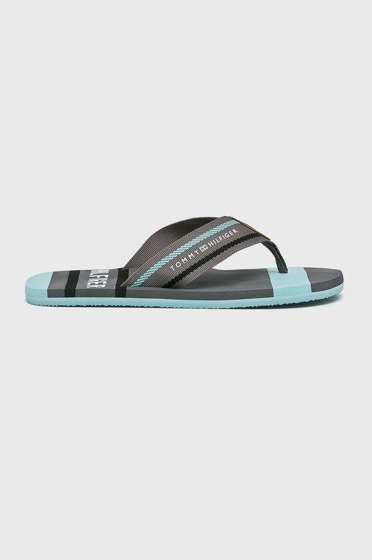 szürke Tommy Hilfiger - Flip-flop Striped Beach Férfi