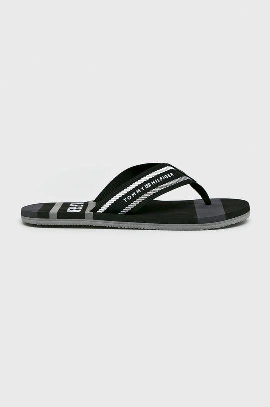 fekete Tommy Hilfiger - Flip-flop Striped Beach Férfi