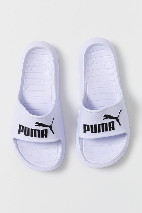 biela Puma - Šľapky Divecat v2
