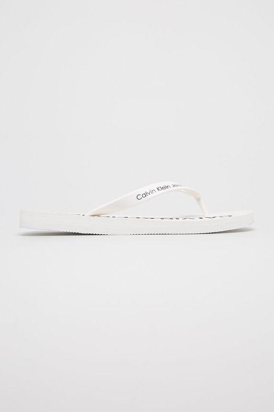 bílá Calvin Klein Jeans - žabky Pánský