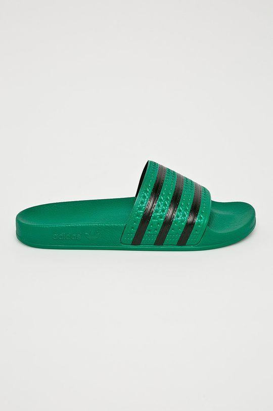 zelená adidas Originals - Šľapky Adilette Pánsky