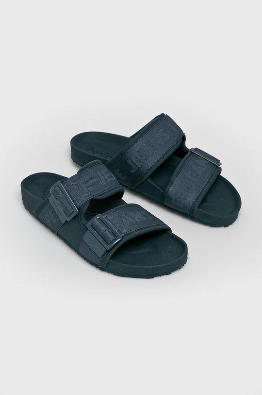Pepe Jeans - Pantofle námořnická modř