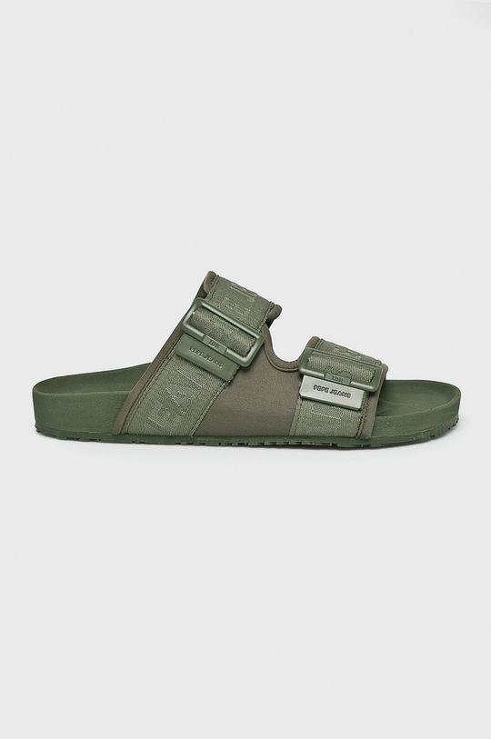 okrová Pepe Jeans - Pantofle Pánský