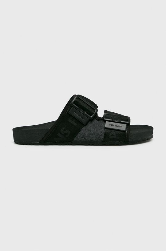 černá Pepe Jeans - Pantofle Pánský