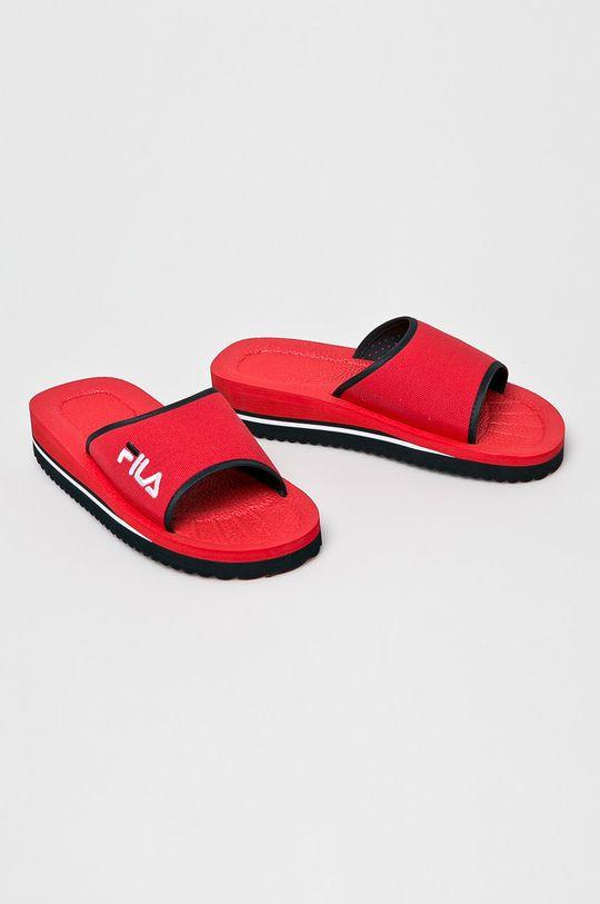 Fila - Papucs cipő Tomaia Slipper piros