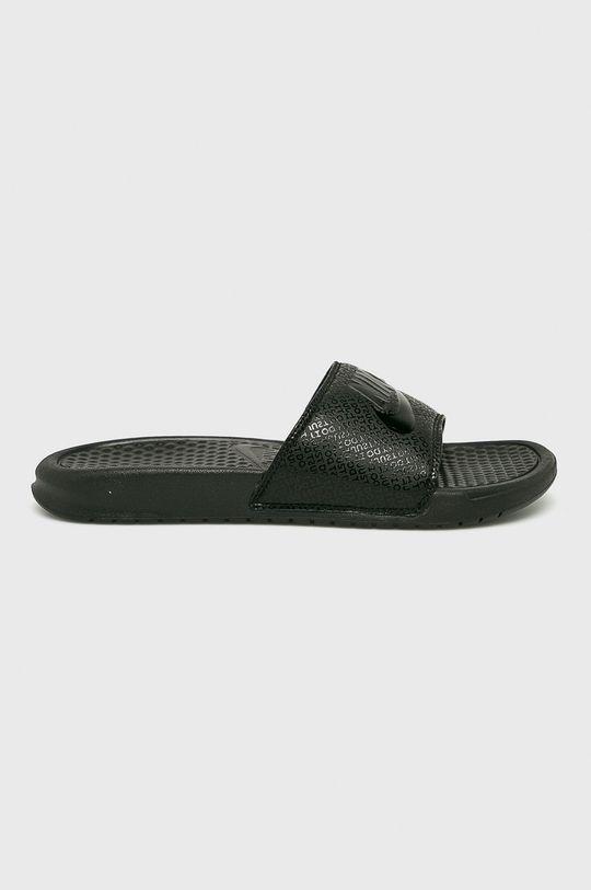 čierna Nike Sportswear - Šľapky Pánsky
