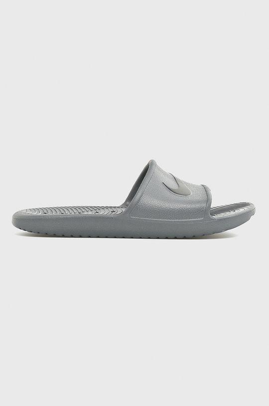 szary Nike Sportswear - Klapki Kawa Shower Męski