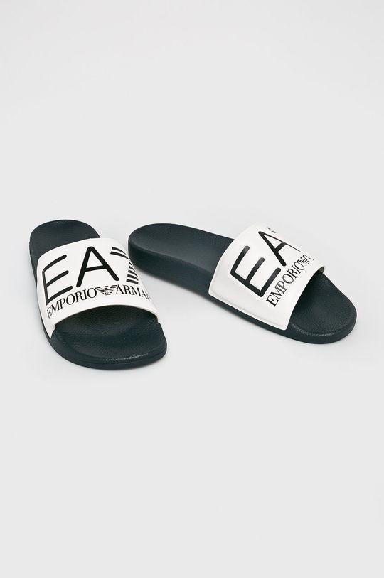 EA7 Emporio Armani - Klapki biały