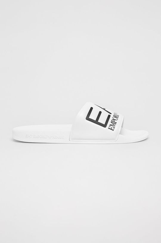 alb EA7 Emporio Armani - Papuci De bărbați