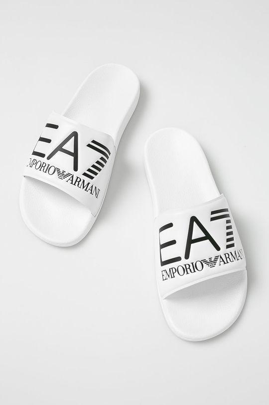 EA7 Emporio Armani - Papuci alb