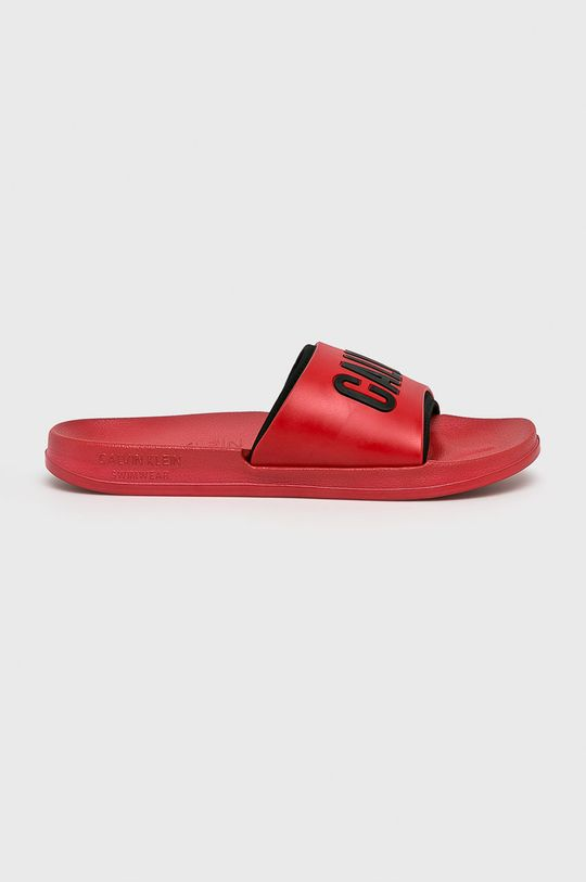červená Calvin Klein Underwear - Pantofle Pánský