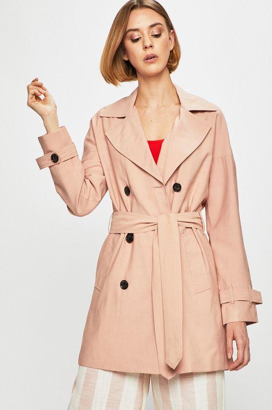 starorůžová Only - Trench kabát Dámský
