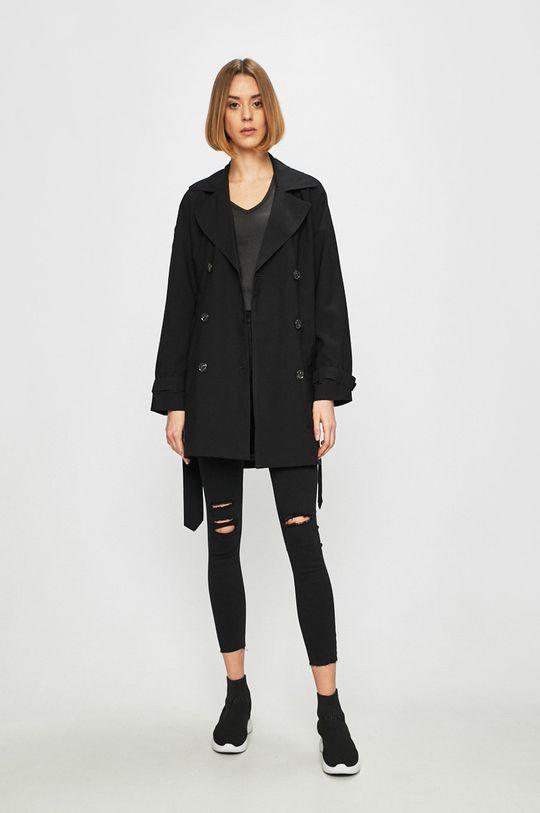 Only - Trench kabát černá