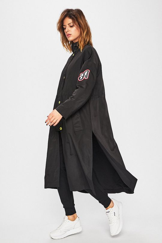 Armani Exchange - Kabát čierna