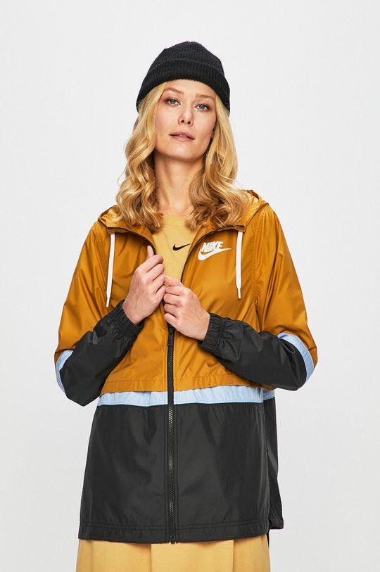 béžová Nike Sportswear - Bunda Dámský