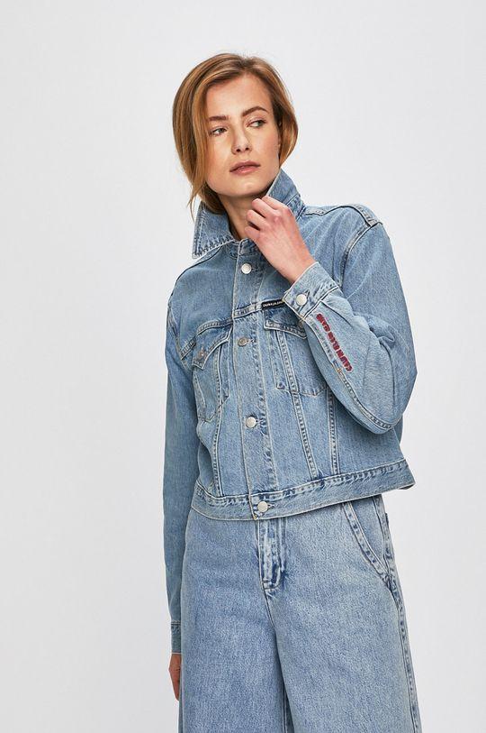 modrá Calvin Klein Jeans - Bunda