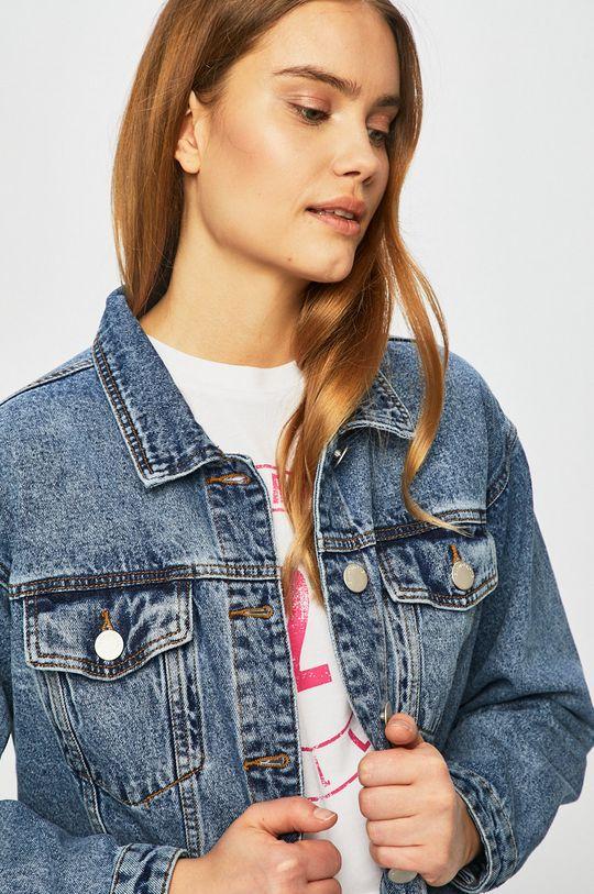 albastru Glamorous - Geaca jeans