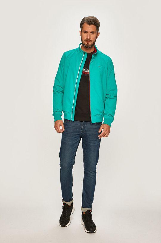 Tommy Jeans - Bunda zelená