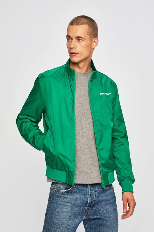 zelená Calvin Klein Jeans - Bunda Pánský