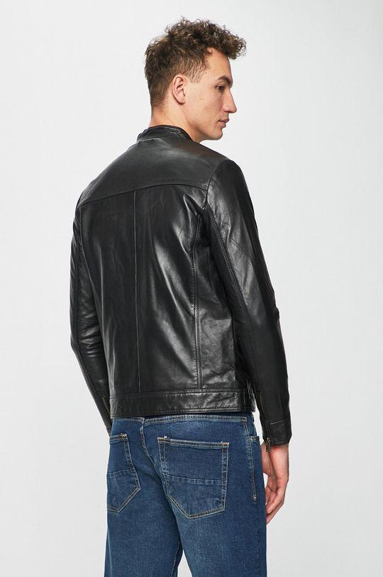 Selected - Kožená bunda Podšívka: 100% Bavlna Hlavní materiál: 100% Přírodní kůže Podšívka rukávů: 100% Polyester