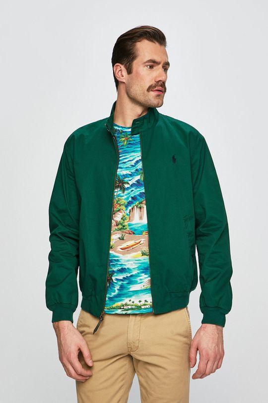 Polo Ralph Lauren - Rövid kabát Baracuda élénk zöld
