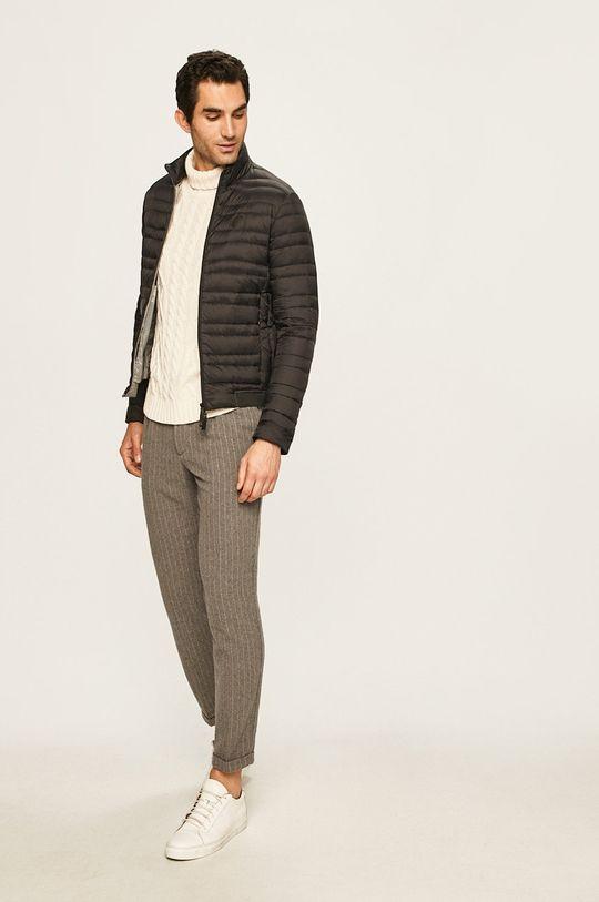 Armani Exchange - Пухова куртка чорний
