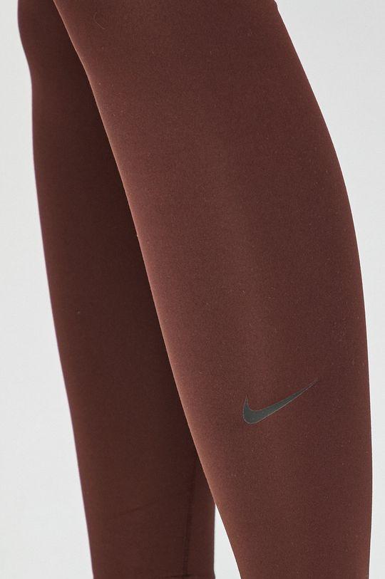 hnědá Nike - Legíny