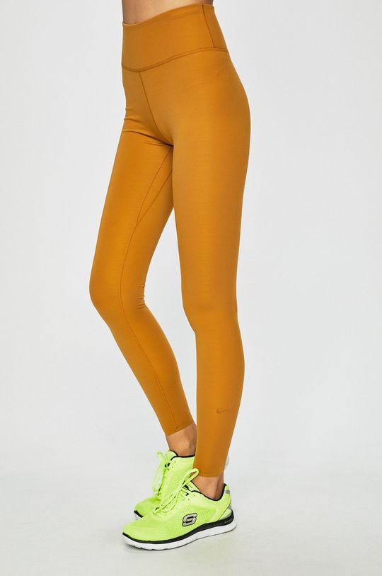 béžová Nike - Legíny Dámský