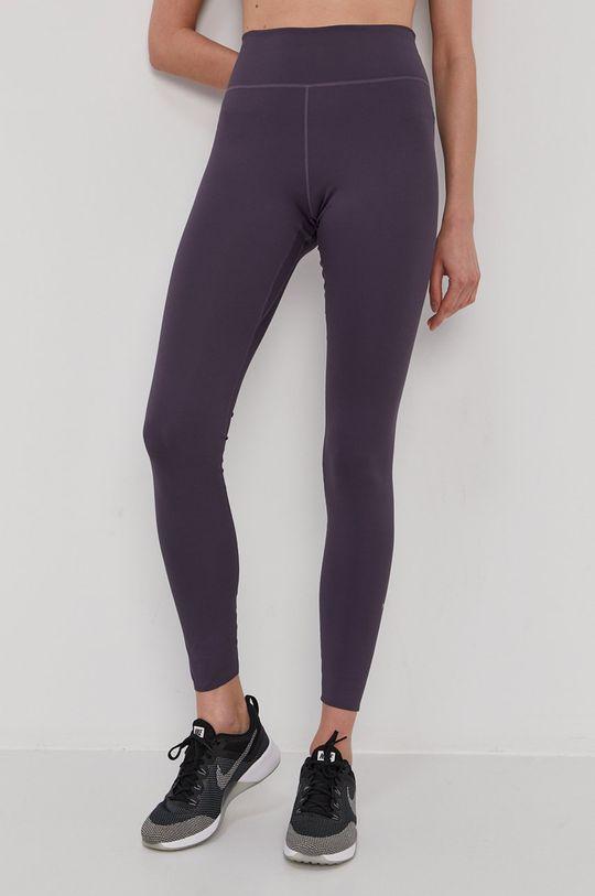 purpurowy Nike - Legginsy Damski