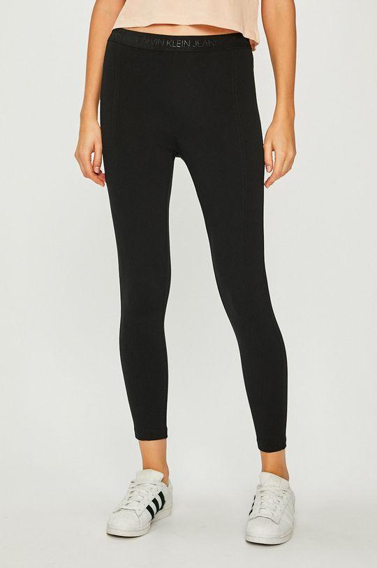 czarny Calvin Klein Jeans - Legginsy Damski