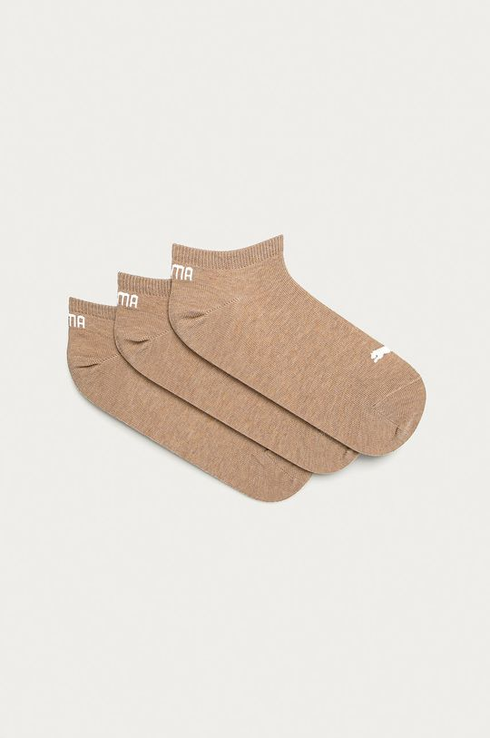 béžová Puma - Ponožky (3-pack) Dámský