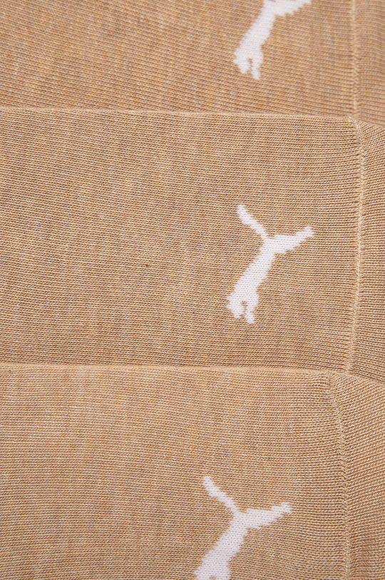 Puma - Ponožky (3-pack) béžová