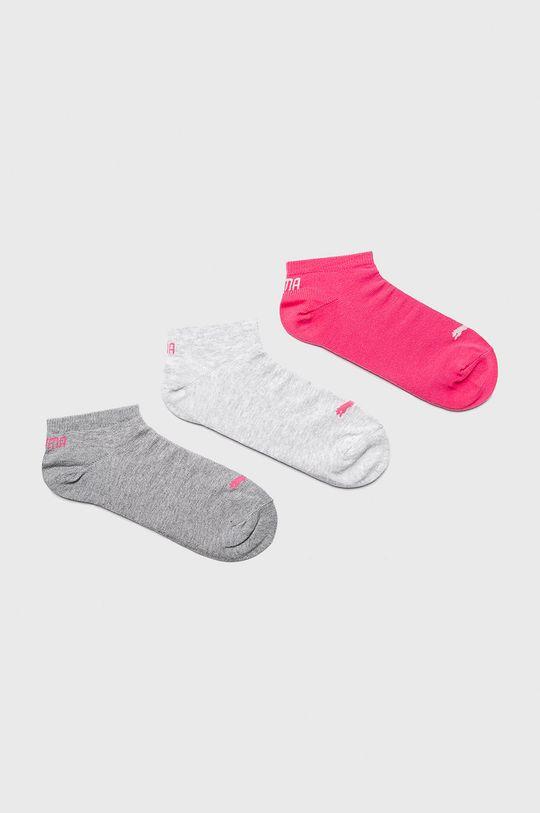 šedá Puma - Ponožky (3-pack) Dámský