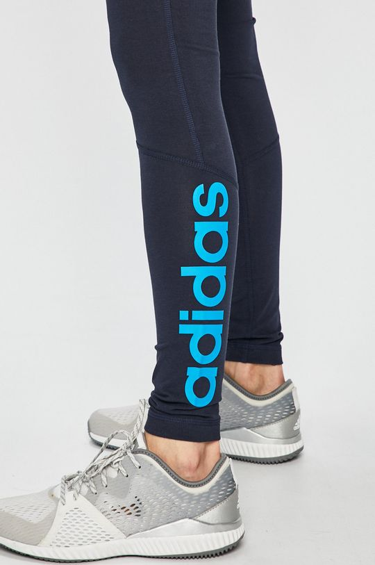 námořnická modř adidas Performance - Legíny