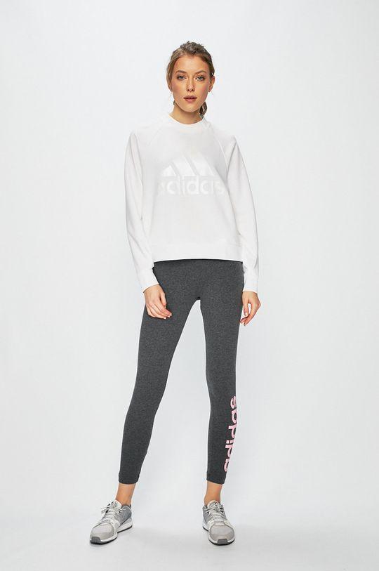 adidas Performance - Legíny sivá