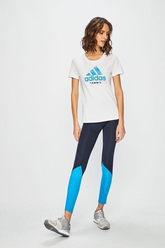 adidas Performance - Legging sötétkék