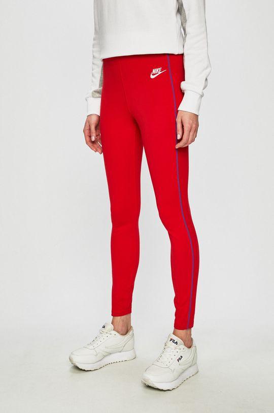 červená Nike Sportswear - Legíny Dámský